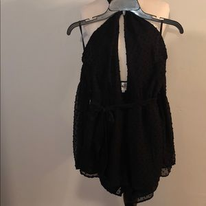 Sabo skirt playsuit/ romper